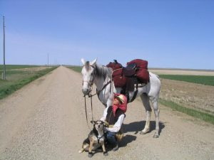 5ooo mile ride, 2006 somewhere in Kansas